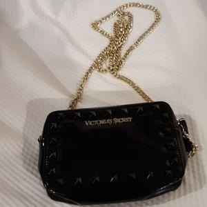 Victoria's Secret small black cross-body purse